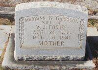 headstone - maryann naomi garrison foshee.jpg