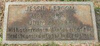 headstone - Jessie Fee Broom.jpg