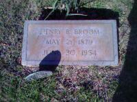headstone - Henry Bunyan Broom.jpg